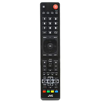 JVC RM-C3174 504Q2220104 Remote Control for JVC LCD TVs - With Two 121AV  AAA Batteries Included