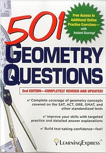 Amazon.com: 501 Geometry Questions (501 Series) (9781576858943 ...