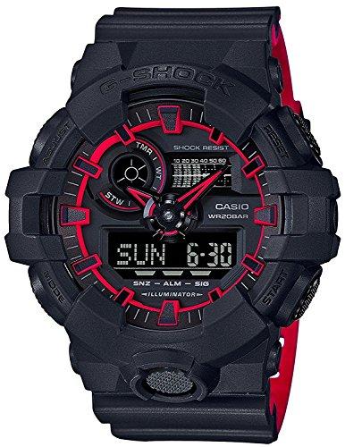 CASIO Watch G-SHOCK neon color GA-700SE-1A4 Men's International Model
