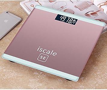 Heeecgoods Báscula de pesaje personal Básculas de pesaje personal Báscula electrónica de peso personal Precise Pink