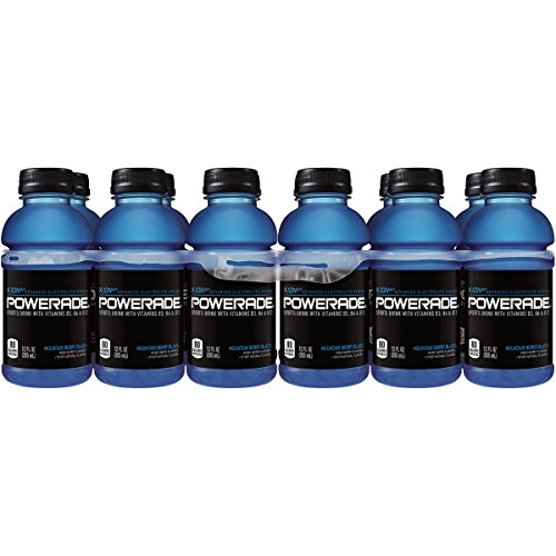 POWERADE Mountain Berry Blast Sports Drink, 12 Ounce (12 Bottles) - Berry Blast Drink