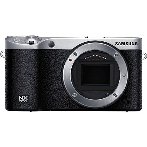 (Samsung NX500 Mirrorless Digital Camera (Black Body Only) + 32GB SDHC Memory Card - International Version (No Warranty))