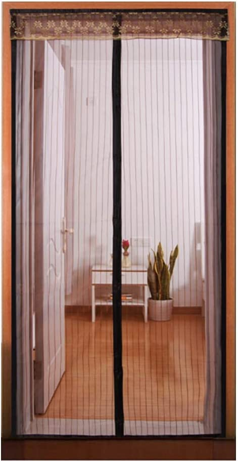 Ulable Pantalla magnética para Puerta de Mosquitos, Cierre automático, Cortina de Mosquitos para balcón, Puertas correderas, Sala de Estar, 80 x 200 cm: Amazon.es: Hogar