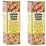Hamdard Roghan Badam Shirin Sweet Almond Oil - 100 ml (Pack of 2)