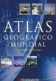 capa de Atlas Geográfico Mundial. Capa Azul