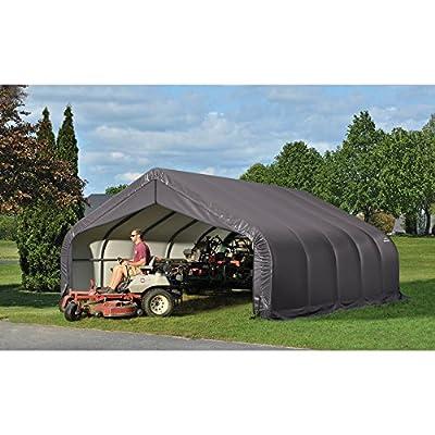 ShelterLogic 18 x 28 x 12 ft. Peak Frame Garage Shelter