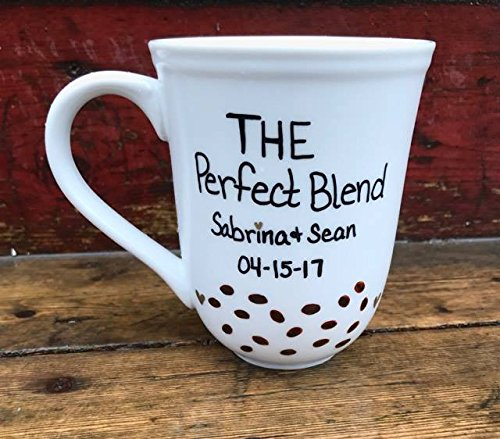 Amazon The Perfect Blend Coffee Mug Wedding Favor Gifts
