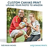 Custom Photo to Canvas Print (16x20) 0.75'' Wrap by Easy Canvas Prints