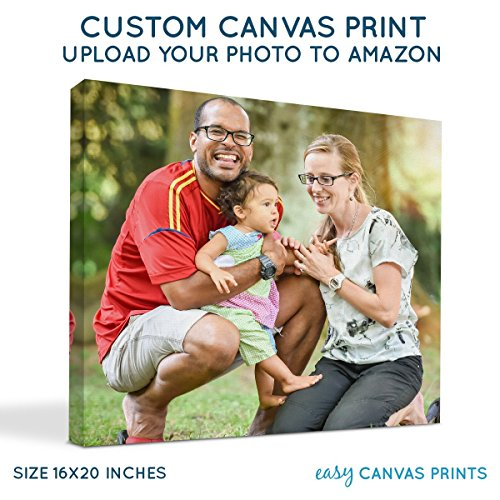 Custom Photo to Canvas Print (16x20) 0.75