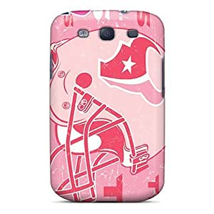 GAwilliam Scratch-free Phone For SamSung Galaxy S4 Case CoverRetail Packaging - Houston Texans