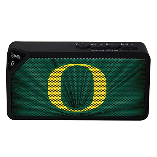 AudioSpice NCAA Oregon Ducks BX-100 Bluetooth Speaker, Black