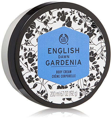 The Body Shop English Dawn Gardenia Body Cream, 6.7 Fluid Ounce