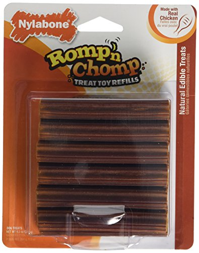 Nylabone Romp 'N Chomp Toy Treat Refill, 12 Count