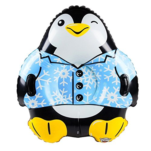 Big Mouth Toys Original suno-tyu-bu Swim, Sleigh, Load Capacity 110kg Penguin BMT-22 - bmst - 0003