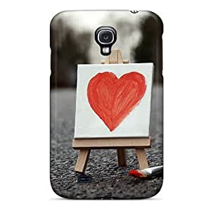 Premium Protection Painted Love Case Cover For Galaxy S4- Retail Packaging