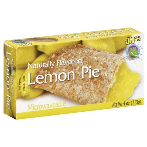 Pie Lemon - JJ's Bakery Lightly Glazed Snack Pies 4oz (Pack of 6) (Lemon)
