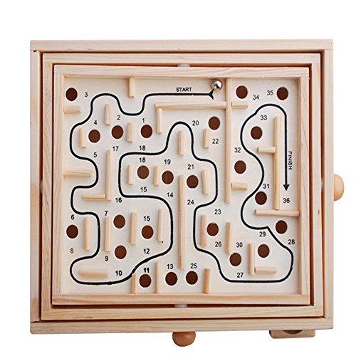 パチンコ迷宮 木製 木のおもちゃ 知育玩具 子供 大人 (L)