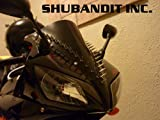 Motorcycle Sportbike Metal Spike Strips Windscreen Spikes Bike Mohawks Helmet Spikes Weather Proof