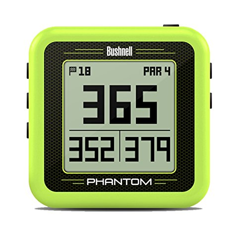 Bushnell Phantom Golf GPS, Green (Bushnell Neo Gps Watch)