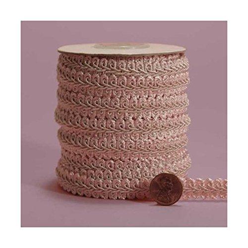 (Light Pink Gimp Braid Trim, 5/8