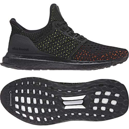 adidas Ultraboost Clima Shoe - Junior's Running 6 Black/Solar Red by adidas (Image #3)