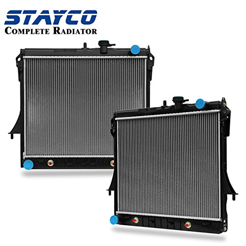 STAYCO Radiator 2855 for 06-10 Hummer H3 3.5/3.7L L5, 5.3L V8, 09-12 (Chevrolet Colorado V8)