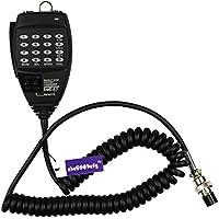 abcGoodefg Alinco EMS-57 8pin DTMF Handheld Speaker Mic Microphone for HF/Mobile DX-SR8T DX-SR8E DX-70T DX-77T