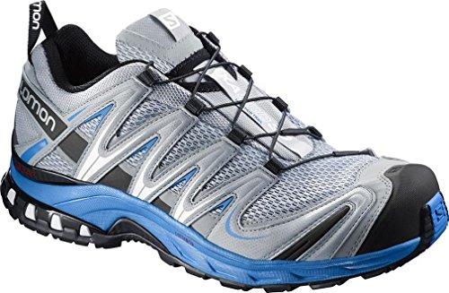 SalomonXA PRO 3D - Zapatillas de Running para Asfalto Hombre light onix-bright blue-black