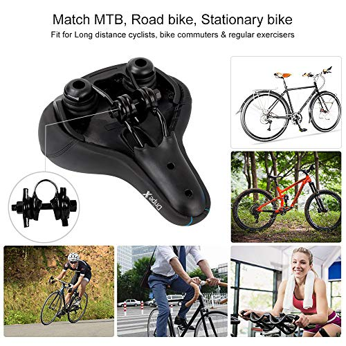 Comfort Cycle Wide Cushion Pad For Dripex Gel Bike Seat Bicycle Saddle