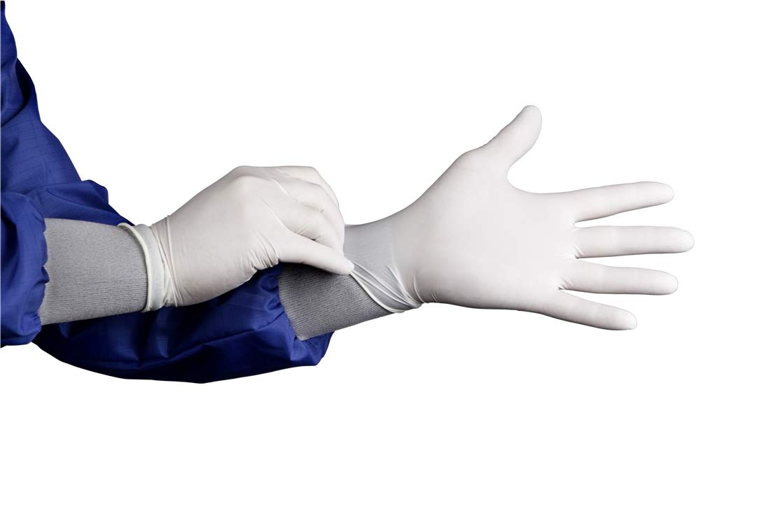 HandPRO 1701 HandPRO 1700 Series Nitrile Controlled Environment Glove, Small, (Pack of 1000) by HandPRO (Image #1)