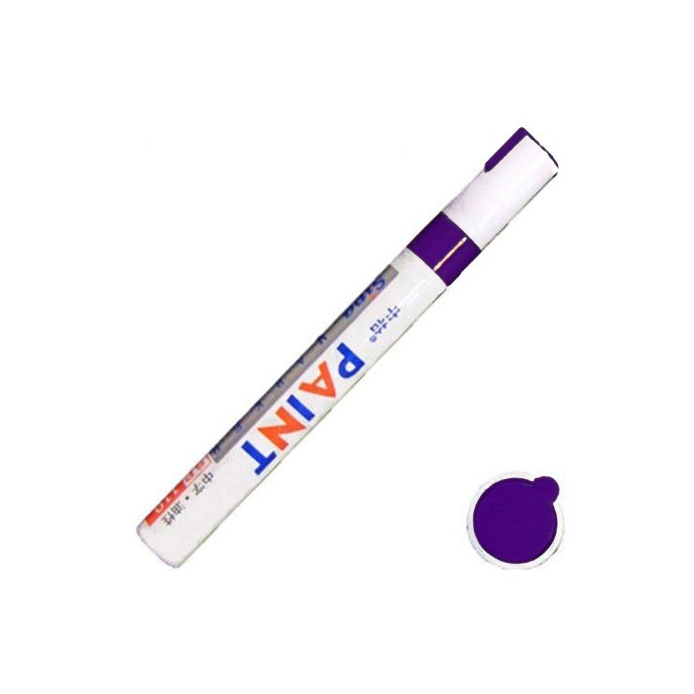 Walmeck Vernice per pennino Penna per auto impermeabile Pneumatico per pneumatici in gomma permanente in metallo