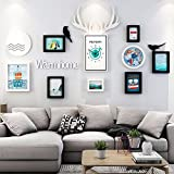XK.DARLY Wall Home Decor Multi Picture Frame Set Large photo frame wall set Wall Decorations for Living room Bedroom