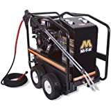 Mi-T-M HSP-3504-3MGH HSP Series Hot Water Gasoline Direct Drive, 389cc Honda OHV Engine, 3500 PSI Pressure Washer