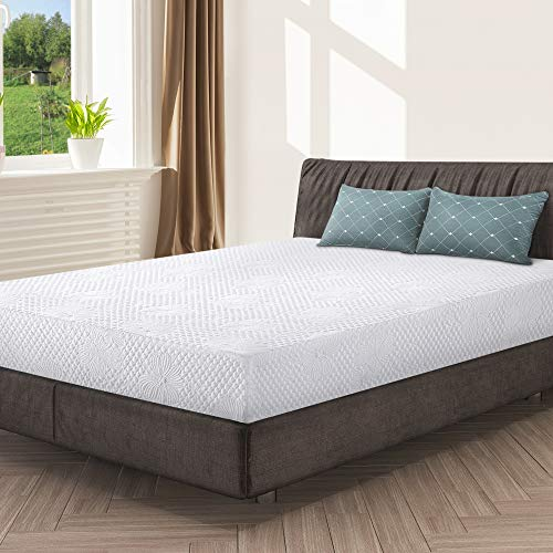 (Olee Sleep 9 Inch I-gel Multi Layered Memory Foam Matress 09FM01Q)