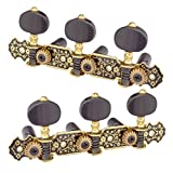 Dovewill 2 Pack Classical Guitar String Tuning Keys Tuners for Guitar Accessories