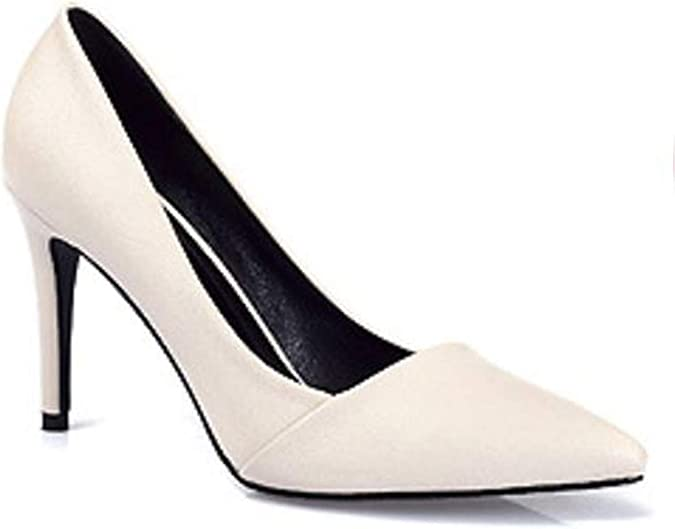 2019 Elegant New Pointed high-Heeled Shoes respectively 5CM 7CM 9CM high Heels with Suede sub-sfoes Woman Shoes,7 cm high Heels,7