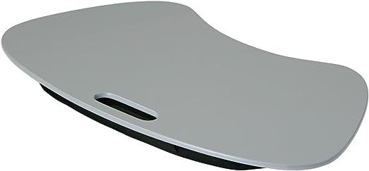 Gris Color portátil bandeja acolchada Resto ideal para televisor ...