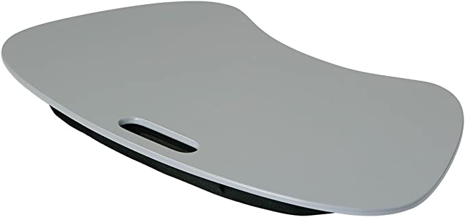 Gris Color portátil bandeja acolchada Resto ideal para televisor cenas, portátiles, Crafts, niños para colorear y Dibujo: Amazon.es: Hogar