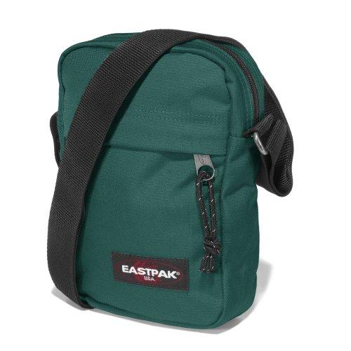 Eastpak The One Bolso Bandolera, Diseño Sunday, Color Gris verde wacko