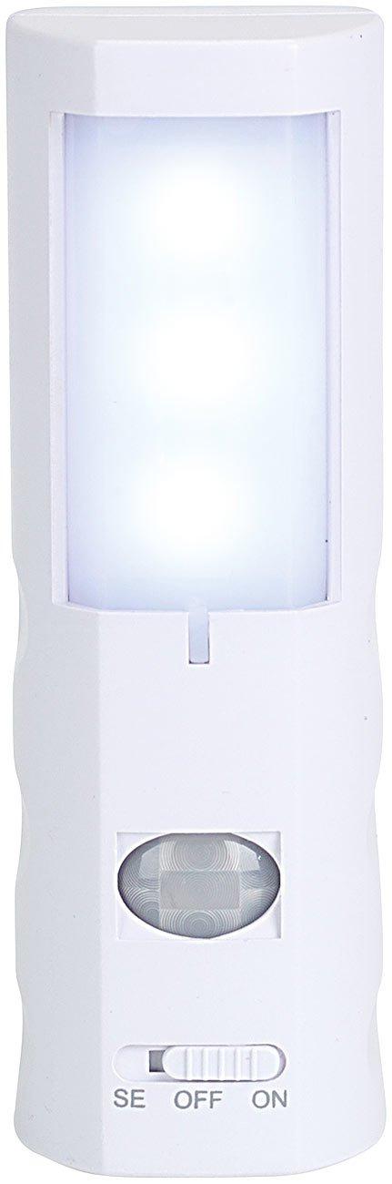 lunartec led nachtlicht mit bewegungsmelder batteriebetrieben ebay. Black Bedroom Furniture Sets. Home Design Ideas
