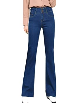 GladiolusA Mujer Vaqueros Jeans Cintura Alta Push Up ...