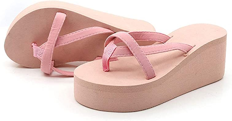 New women/'s shoes fashion comfort casual soft Foot bed Sandals summer Pink