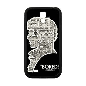 ZXCV Bored man Cell Phone Case for Samsung Galaxy S 4