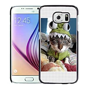 New Personalized Custom Designed For Samsung Galaxy S6 Phone Case For Cross eyed Cat Phone Case Cover Kimberly Kurzendoerfer