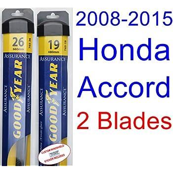 2008-2015 Honda Accord Replacement Wiper Blade Set/Kit (Set of 2 Blades
