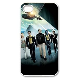 C-EUR Customized Print X Men Pattern Back Case for iPhone 4/4S
