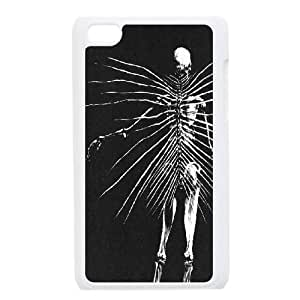 Customized Cool Human Skeleton Ipod Touch 4 Case, Cool Human Skeleton DIY Case for iPod Touch4 at Lzzcase