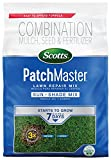 Scotts 14902 PatchMaster Lawn Repair Sun and Shade Mix - 290 sq. ft, 10 LB