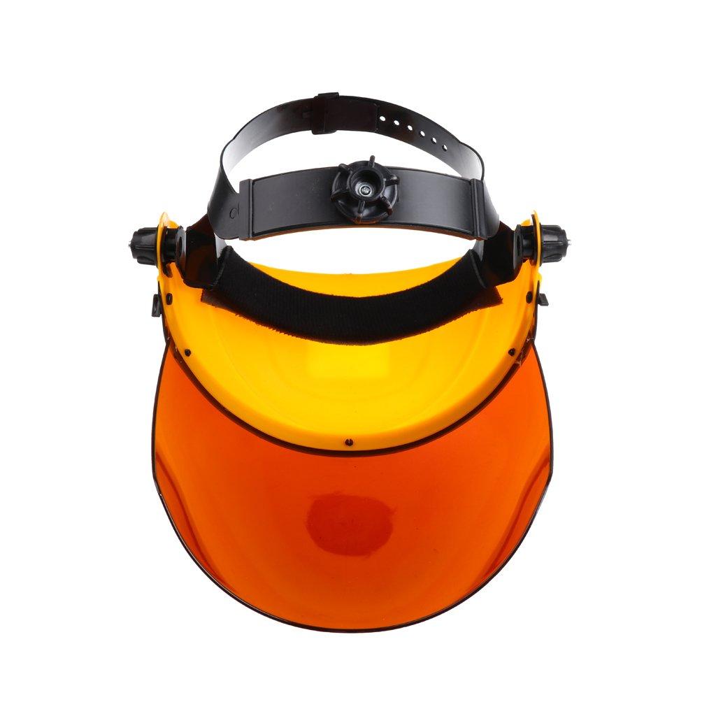 Garant/ía de Seguridad 5 Colores Casco de Soldador de Policarbonato Protector Facial Equipo de Soldadura Negro