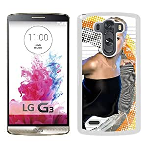 Beautiful Designed Cover Case With September Dress Late Blonde Graphics (2) For LG G3 Phone Case